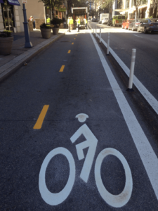 bike lane for scooters