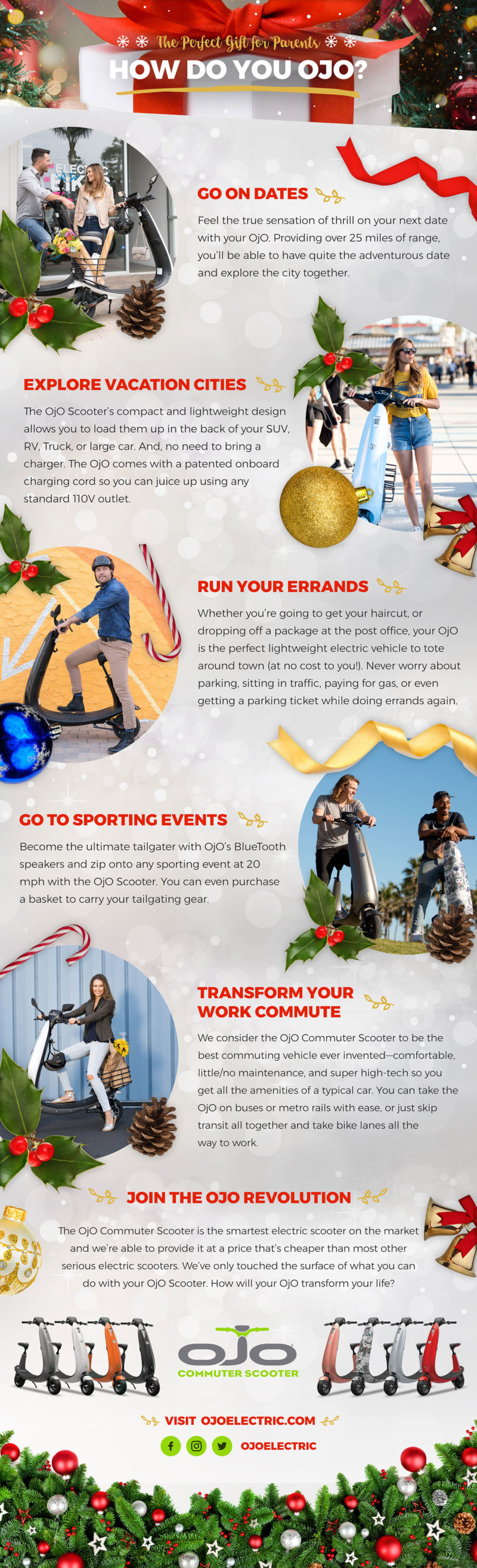 Gifting OjO Electric Scooter