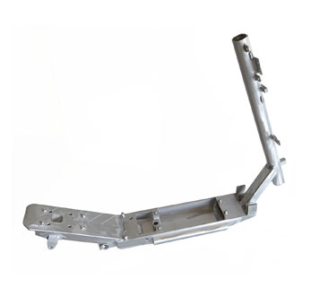 OjO scooter's aluminum structure