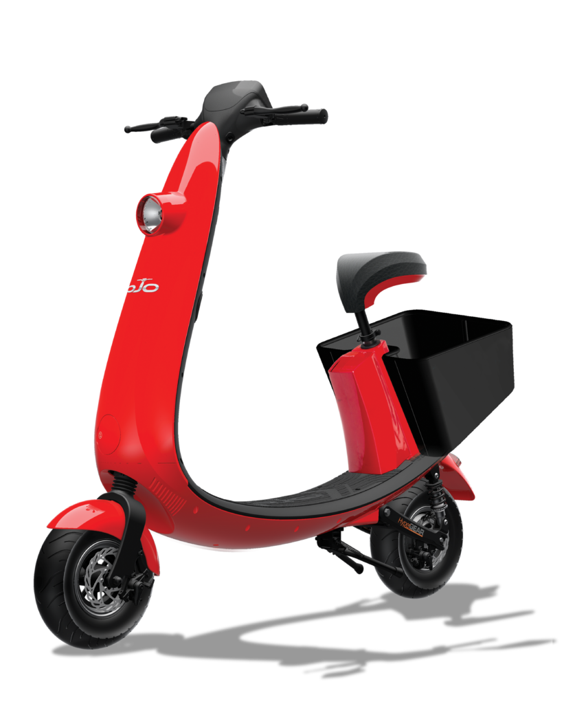 Introducing OJO Electric Scooter Rideshare